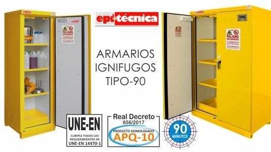 Armarios Ignifugos tipo 90 homologado APQ-10
