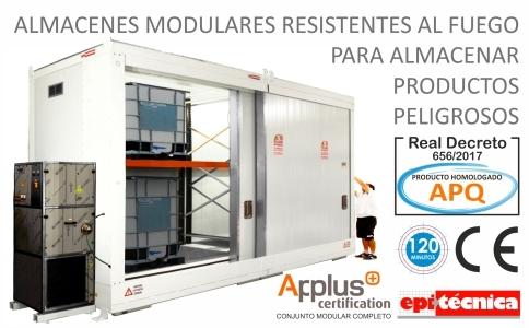 Almacenes contenedores apq modulares